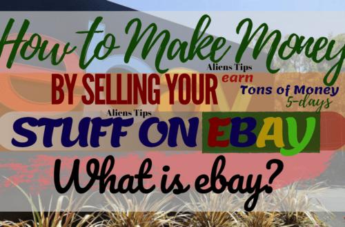 How to make money online selling on eBay Earn $500mo Without Experience!! How to make money online Aliens Tips