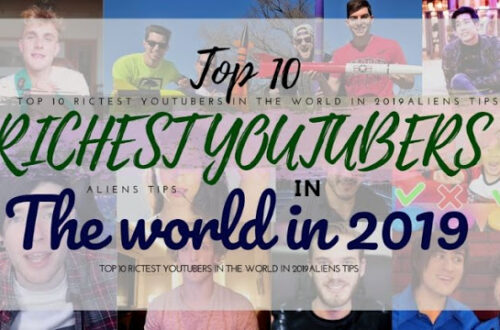 Aliens tips blog The Top 10 Richest YouTubers in 2020 Top 10 Richest YouTubers in 2019 and most subscribed youtubers, YouTube offers instant access to one of the largest audiences on the Internet to all video content producers. The best part is, that you can create your channel for free and start uploading videos today, who knows maybe you become one of the most subscribed youtubers or on the top youtubers list. However, it is worth noting that success doesn't come overnight and all of the highest-paid YouTubers had to work hard to get to where they are now. Another fascinating fact is that most of the people frequently mentioned in these discussions are under 30 years old. So let's have a look at the top ten richest YouTubers in 2019, how much do youtubers make ?