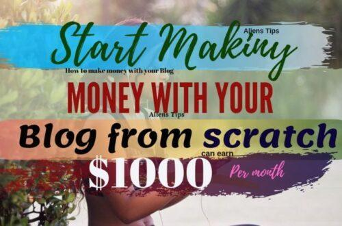 4 Essential ways on How to Make Money Online With Your Blog!! Will admire. how to make money online Aliens Tips
