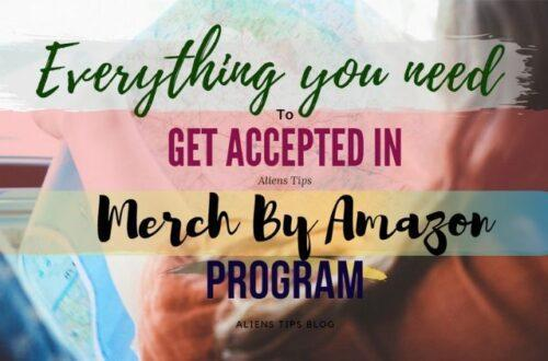 How To Apply To Merch by Amazon [Get Accepted FAST] Merch by Amazon Aliens Tips