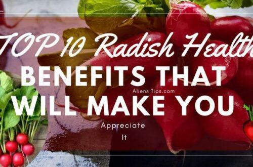 TOP 10 Radish Health Benefits That Will Amaze You. Aliens tips blog Radish Health Benefits Aliens Tips