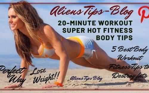 20-Minute Home Workout Super Hot Fitness Body Tips Aliens tips blog home workout Aliens Tips