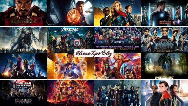 TOP Best 23 Marvel Movies Cinematic Universe.