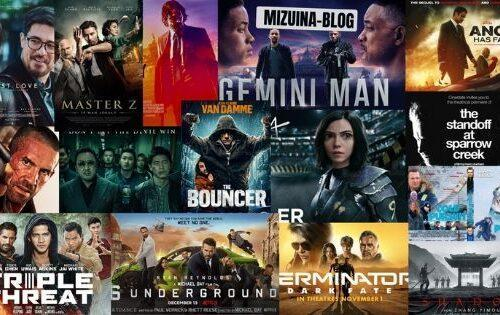 Top 20 Best Action Movies of 2019 Aliens Tips Aliens Tips 1. John Wick: Chapter 3 – Parabellum 2. The Standoff at Sparrow Creek 3. Shadow 4. Avengement 5. Alita: Battle Angel 6. The Bouncer 7. First Love 8. Master Z: The Ip Man Legacy 9. Gemini Man 10. 6 Underground 11. Triple Threat 12. Angel Has Fallen 13. Triple Frontier 14. Furie 15. Domino 16. Dragged Across Concrete 17. Terminator: Dark Fate 18. The Gangster, The Cop, The Devil 19. Cold Pursuit 20. Polar