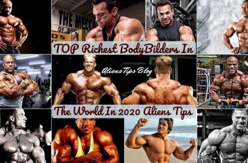 Who is the Top 10 richest bodybuilders in the World!!-Aliens