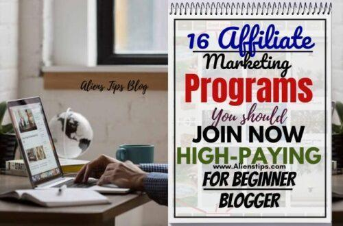 16 Affiliate marketing Program high paying aliens tips