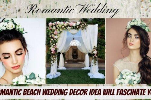 Romantic Beach Wedding Decor Idea Will Fascinate You-Aliens Tips