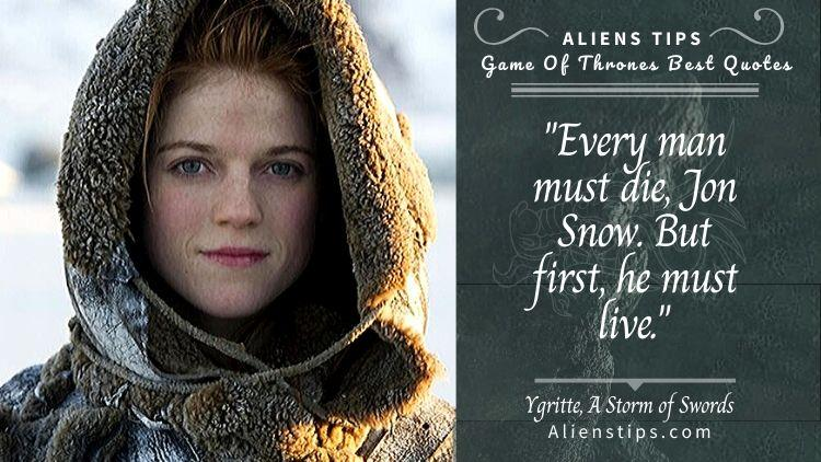 The Most Memorable hbo game of thrones Quotes