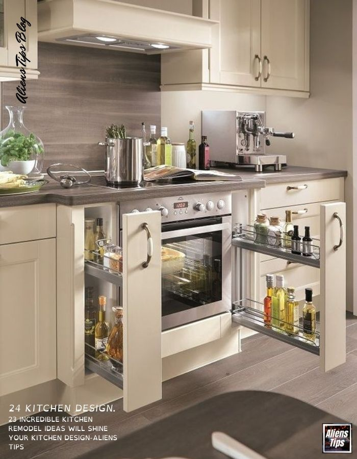 23 Incredible kitchen Remodel ideas will shine Your kitchen design-Aliens Tips kitchen cabinets, kitchen remodel, kitchens, design of kitchen, kitchen remodel ideas, kitchen design, kitchen colours, ideas for kitchen remodeling,  kitchen cabinet design, modern kitchen cabinets, kitchen colours ideas, kitchen design ideas, kitchen ideas, small kitchen ideas,