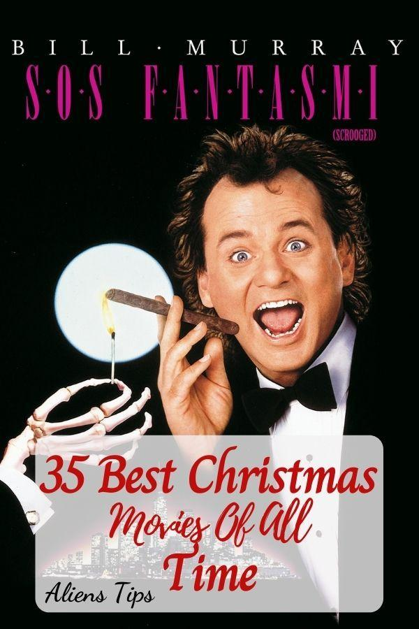 Scrooged (1988). 35 Best Christmas Movies Of All Time, New Christmas Movies-Aliens Tips