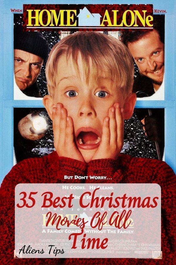 Home alone (1990) 35 Best Christmas Movies Of All Time, New Christmas Movies-Aliens Tips
