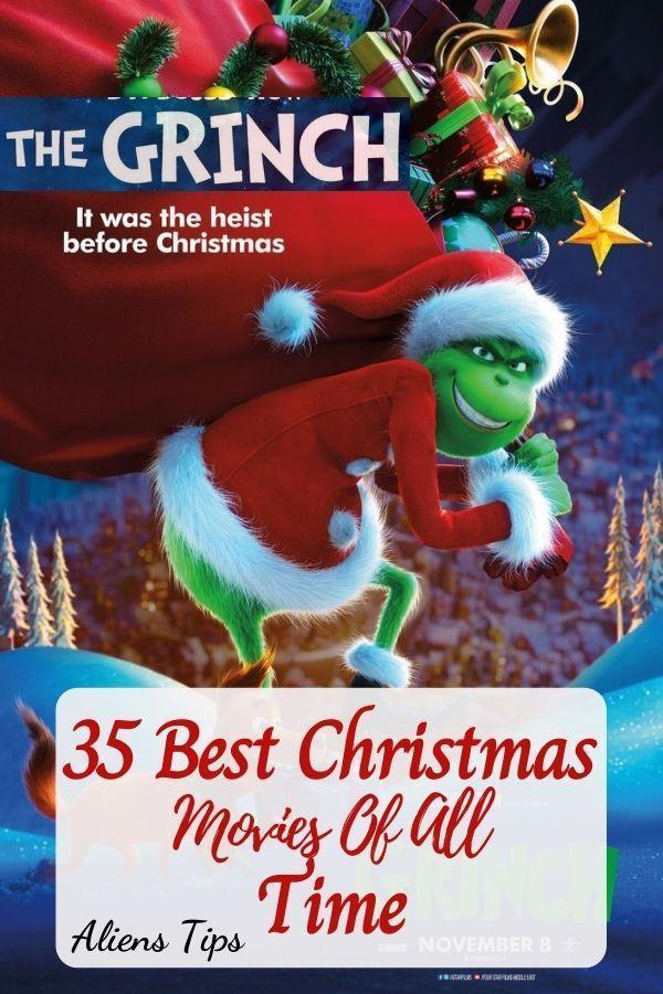 The Grinch (2018) 35 Best Christmas Movies Of All Time, New Christmas Movies-Aliens Tips