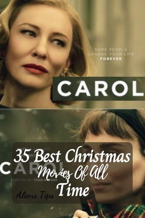 CLarol (2015)) 35 Best Christmas Movies Of All Time, New Christmas Movies-Aliens Tips
