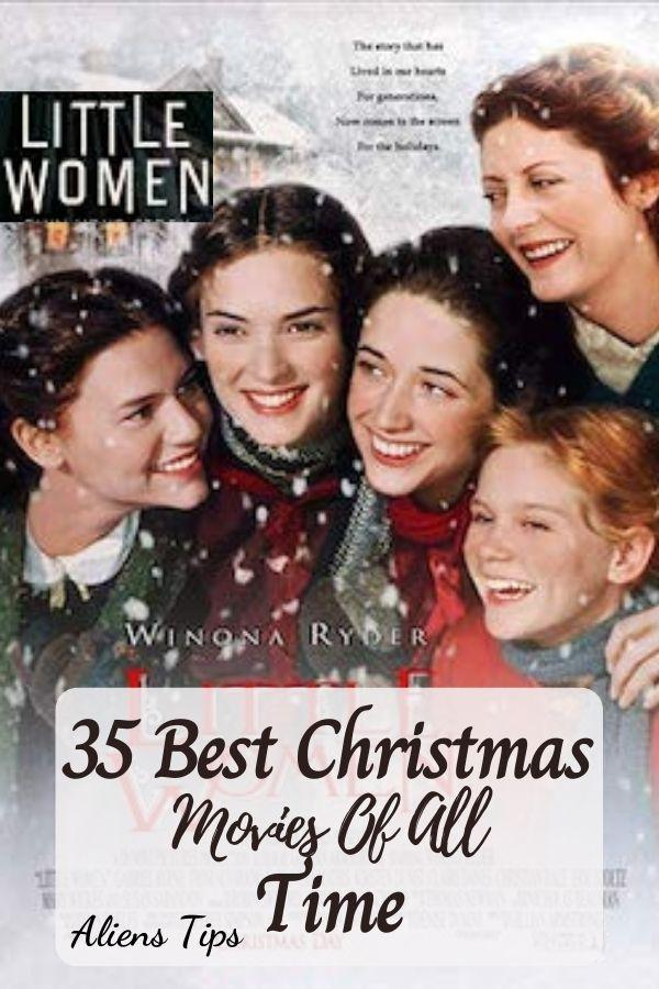 Little Women (1994) 35 Best Christmas Movies Of All Time, New Christmas Movies-Aliens Tips