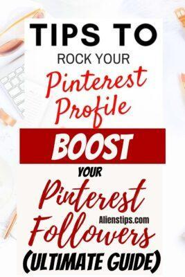 How To Increase Your Pinterest Followers 4X On a Week [The Ultimate Guide] pinterest followers Aliens Tips
