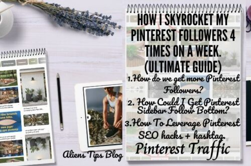 How To Skyrocket Your Pinterest Followers 4 Times On a Week (Ultimate Guide)
