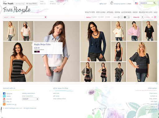 Free People What Are The Best FASHION Websites For Women? [50+RANKED]