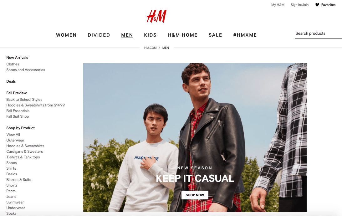 H&M What Are The Best FASHION Websites For Women? [50+RANKED]