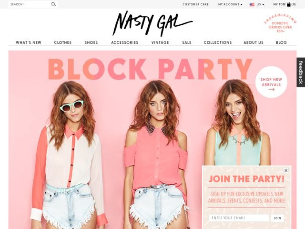 Nasty Gal What Are The Best FASHION Websites For Women? [50+RANKED]