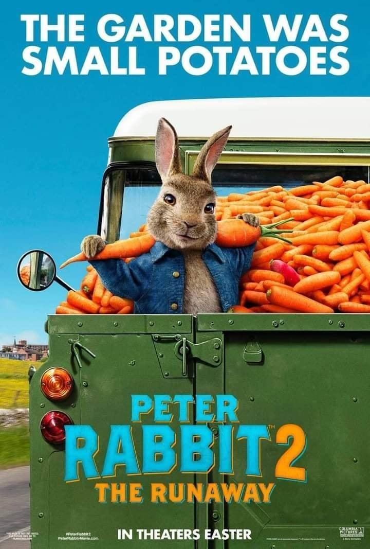 Peter Rabbit 2: The Runaway Incredible Upcoming 2021 Movies Aliens tips