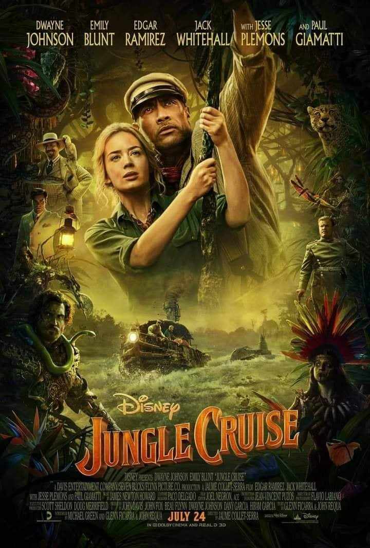 jungle cruise Incredible Upcoming 2021 Movies Aliens tips