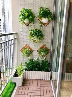 How To Decorate a ladies SMALL Terrace!! Wonderful View How To Decorate a ladies Small Terrace Aliens Tips