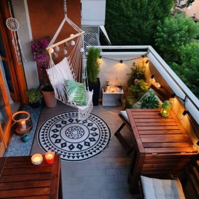 How To Decorate a ladies Small Terrace Aliens Tips!!