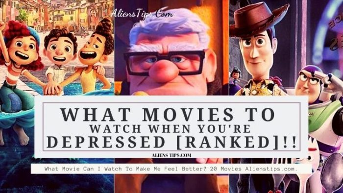 What Movie Can I Watch To Make Me Feel Better? 20 Ranked Movies Alienstips.com. What to watch when you are feeling down? Whats a good movie to watch when you're depressed? What to watch on Netflix to cheer you up? What are the most uplifting movies? What is a good feel good movie? What to watch when you don't want to watch anything? Alienstips.com.
