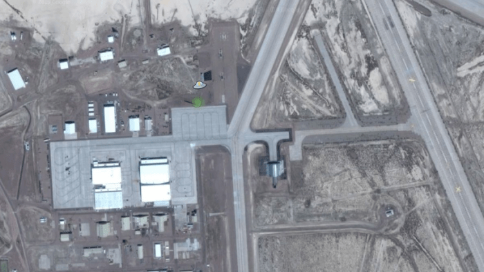 9 places that never appear on Google Maps (photos) aliens tips 1. Area 51 alienstips.com
