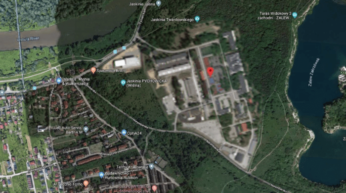 9 places that never appear on Google Maps (photos) aliens tips 5. The headquarters of the Polish special forces alienstips.com