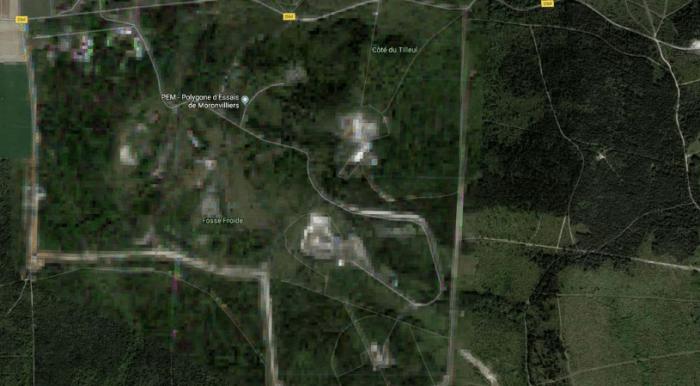 9 places that never appear on Google Maps (photos) aliens tips 4. Moronvilliers Village alienstips.com