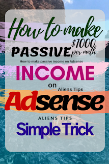 """How to Actually Make Money with Your Blog? Aliens Tips-Blog However, making money with your blog is one of the most common goals to start a blog and Make Money """"Aliens Tips"""". Bloggers have different purpose of starting a blog. Some may use this as a hobby or a personal blog. Some may use it as a business blog like this one Aliens Tips Blog. Alternatively, someone may want to become a professional blogger. How to make money after creating your blog? How to get traffic to your blog? Google AdSense for beginners. 3. Affiliate networks Aliens Tips-Blog"""