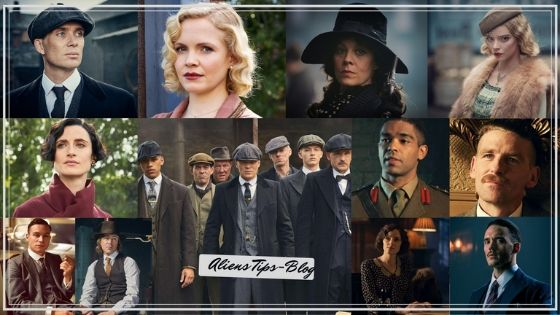 """Peaky Blinders best Netflix series Aliens tips Peaky Blinders, the well-wrought BBC and Netflix production about a family of gangsters in interwar England, is a veritable who's-who of talent from across the pond. Cillian Murphy, whom you probably know best as Scarecrow from the Dark Knight trilogy or as the star of Danny Boyle's 28 Days Later and Sunshine, heads a clan that includes a Malfoy matriarch and one of the bad guys from The Revenant. As for each season's guest stars and recurring characters? Like all other shows with loads of British actors, they're either people you know from Harry Potter or Game of Thrones -- unless they're Tom Hardy. The show's fifth season adds even more new and recognizable faces to the mix, so we've compiled a list of all the Peakies you might see and wonder, """"I know that guy... but from where??"""" More: Here's what to remember before you fire up Peaky Blinders Season 5 Cillian Murphy"""