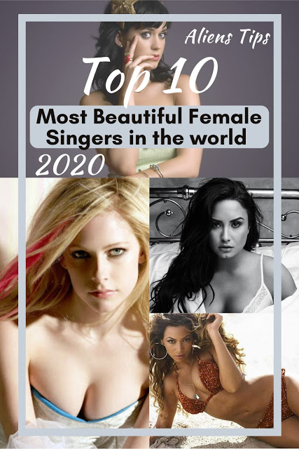 Top 10 charming & Hottest Female Singers in the world 2020 - Aliens tips Hottest Female Singers Aliens Tips