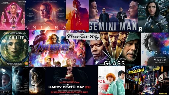 The TOP 15 Science-Fiction Movies of 2019 Best sci fi movies of 2019 Aliens Tips 1. High Life 2. Ad Astra 3. Glass 4. Diamantino 5. Detective Pikachu 6. Aniara 7. Gemini Man 8. John Wick: Chapter 3 -- Parabellum 9. Escape Room 10. Little Joe 11. Alita: Battle Angel 12. Fast Color 13. Happy Death Day 2U 14. Avengers: Endgame 15. Captain Marvel
