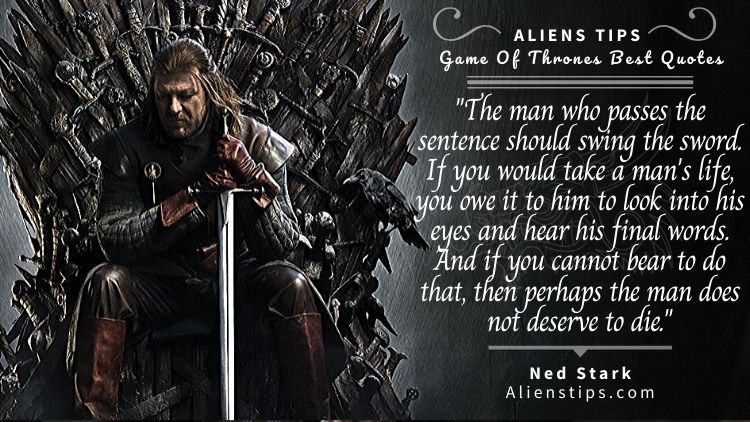 HBO game of thrones Quotes